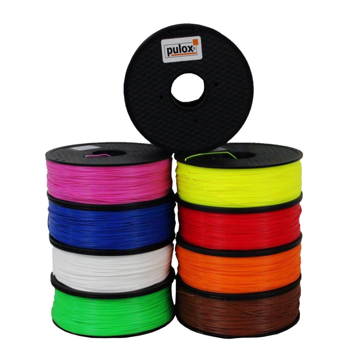 pulox 3d drucker abs filament rolle 1kg pulsoximeter von pul. Black Bedroom Furniture Sets. Home Design Ideas