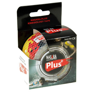 Nasara Plus Kinesiologie Tape (5m x 50mm) Deutschland