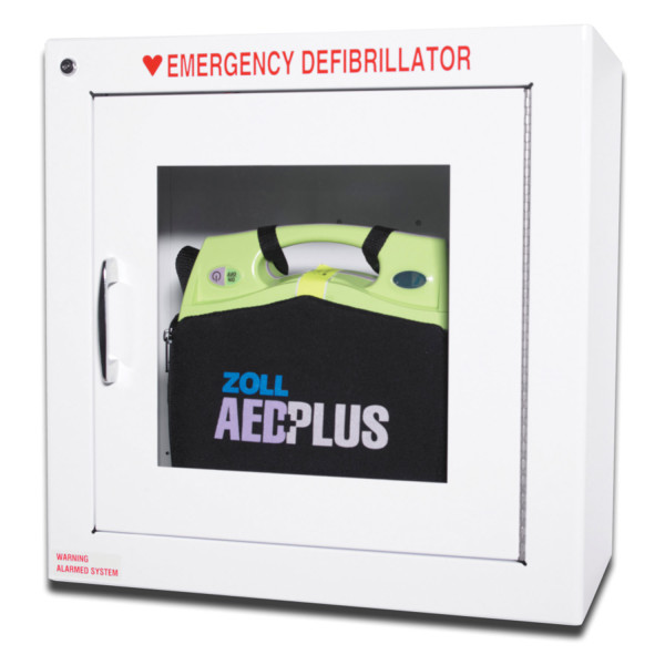 ZOLL AED Plus Wandschrank Version 3 Surface inkl. Warnleuchte